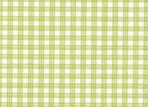 P Kaufmann Highland Check 301 Green Check / Plaid Fabric