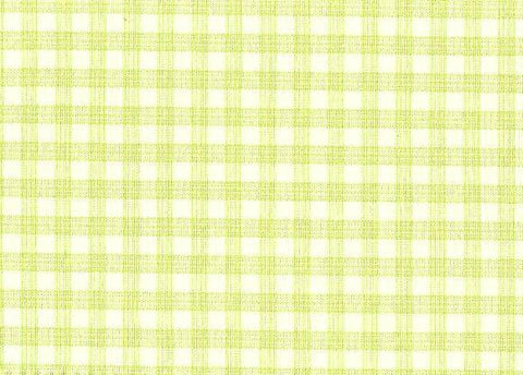 P Kaufmann Highland Check 347 Pear Check / Plaid Fabric