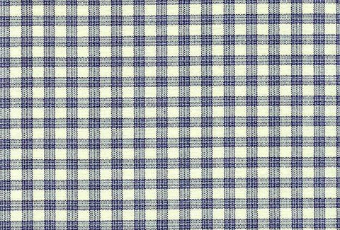 P Kaufmann Highland Check 468 Denim Check / Plaid Fabric