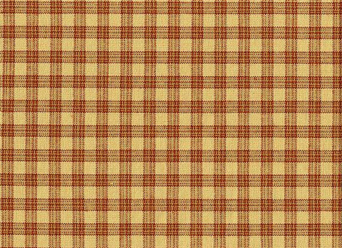P Kaufmann Highland Check 554 Claret Check / Plaid Fabric