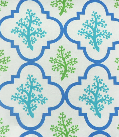 P Kaufmann Odl Nantucket 001 Turquoise Outdoor Fabric