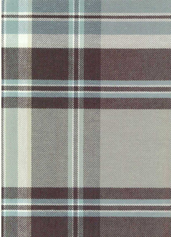 P Kaufmann Sticky Wicket Pearl Grey Check / Plaid Fabric