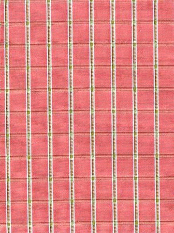 P Kaufmann Winette Strawberry Check / Plaid Fabric