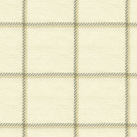 Portfolio Textiles Harbord Wheat Check / Plaid Fabric