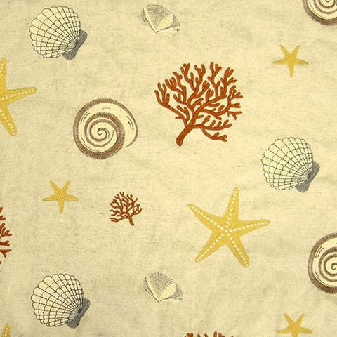 Regal Fabrics K-Beachcomber Sand Embroidered Fabric