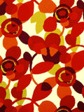 Robert Allen Abstract Flora Poppy Crypton Home Fabric
