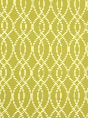 Robert Allen Helix Ogee Lemongrass Crypton Home Fabric