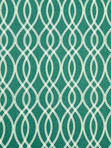 Robert Allen Helix Ogee Turquoise Crypton Home Fabric