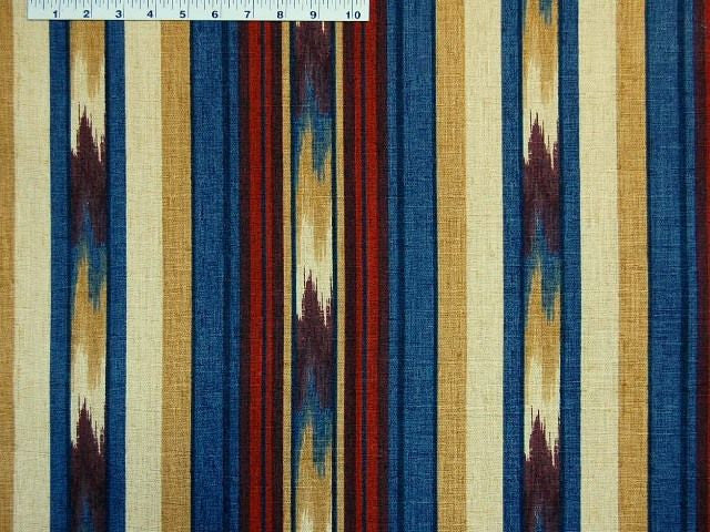 Robert Allen Ikat Stripe Tabriz Prints Fabric