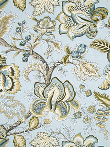 Robert Allen Jacobean Swag Mineral Crypton Home Fabric
