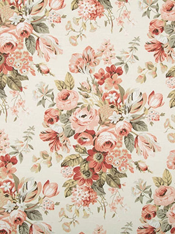 Robert Allen Medley Blooms Blush Crypton Home Fabric