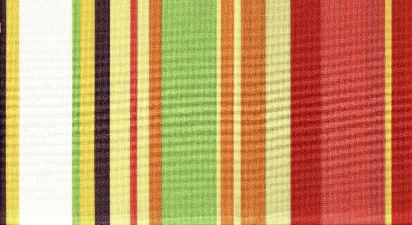 Robert Allen Stripe Cabana Coral Outdoor Fabric
