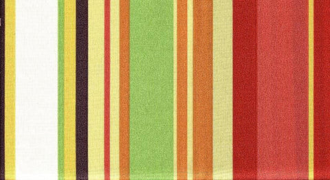 Charleston Fabrics Stripe Cabana Coral Outdoor Fabric