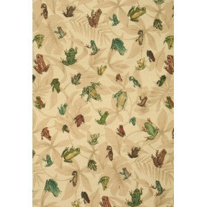 Suburban Fabrics Ribbit Design 54 Width Sold By The Yard Animal Pattern Fabric