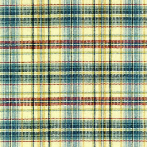 Swavelle Mill Creek Wembley Regatta Check / Plaid Fabric