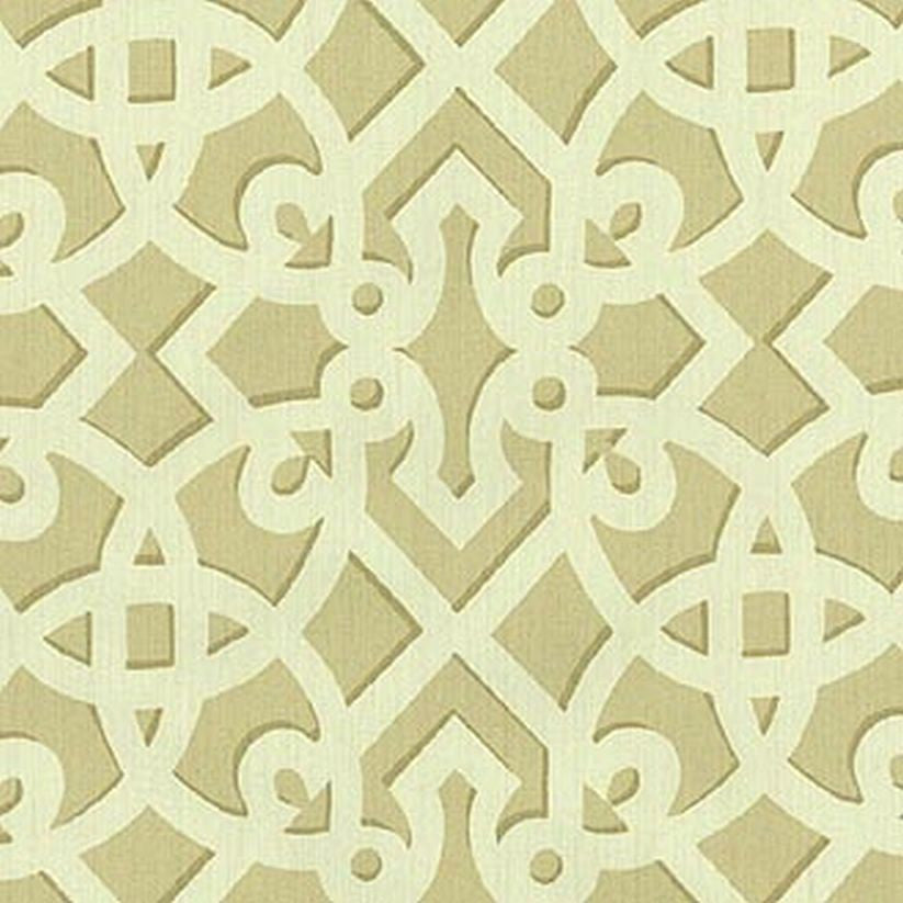 Williamsburg Francis Fret Sand 750482 Prints Fabric