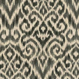 Williamsburg Thompson Ikat Zinc 750574 Linen Fabric