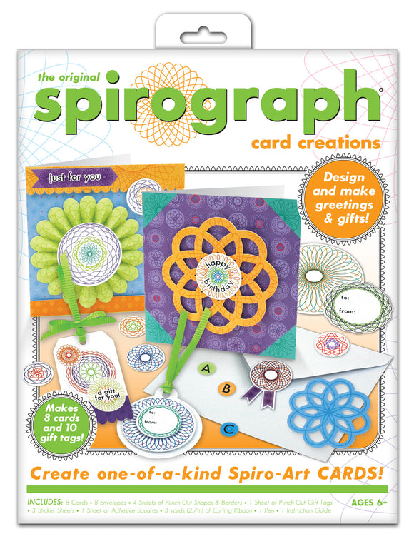 Spirograph® Card Creations Kit