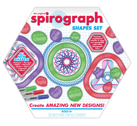 Spirograph® Shapes Set
