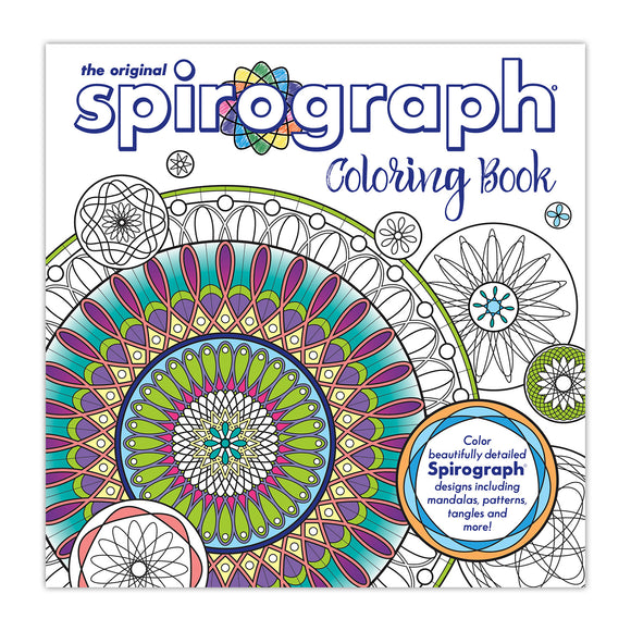 Spirograph® Adult Coloring Book