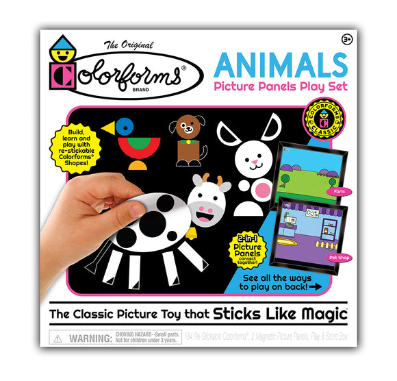 Colorforms® Animals Picture Panels Play Set