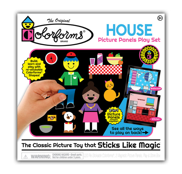 Colorforms® House Picture Panels Play Set
