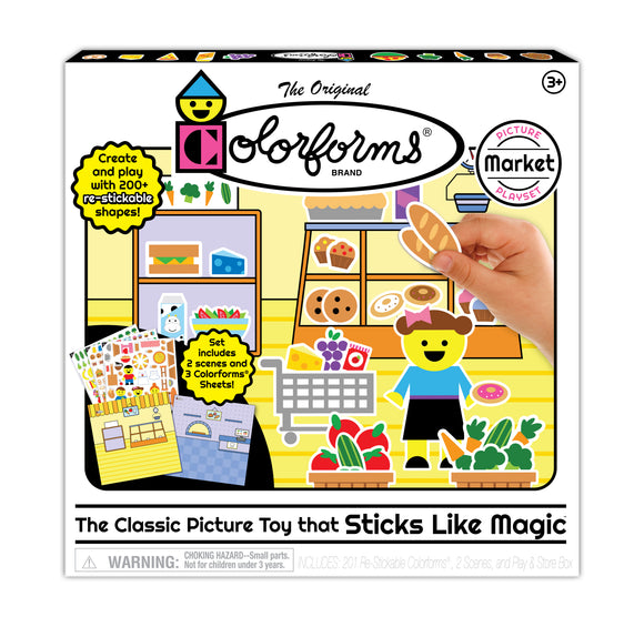 Colorforms® Market Picture Playset