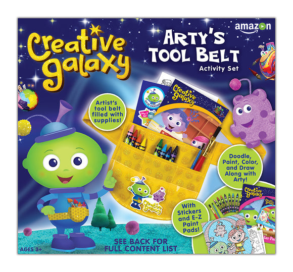 Creative Galaxy — Arty's Tool Belt Activity Kit
