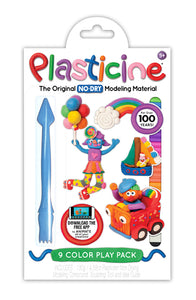 Plasticine® 9-Color Play Pack