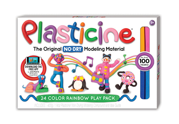 Plasticine® 24-Color Rainbow Play Pack