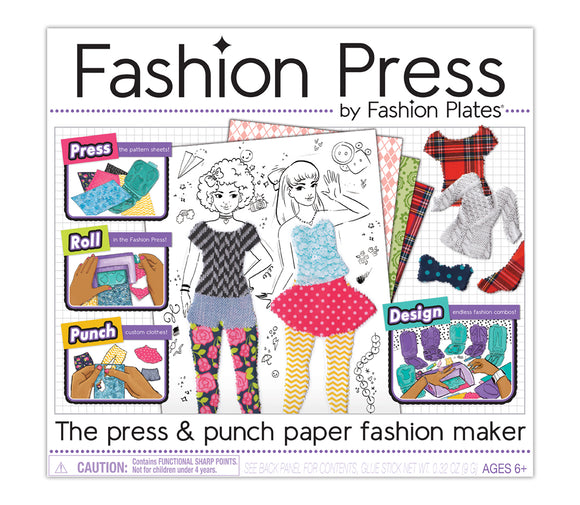 Fashion Press — Paper Fashion Maker