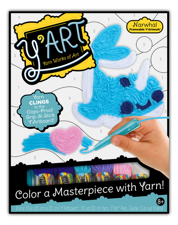 Y'Art Craft Kit - Narwhal
