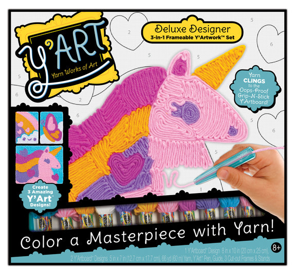 Y'ART® Deluxe Designer 3-in-1 Set