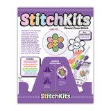 StitchKits™ Flower Cross Stitch Kit