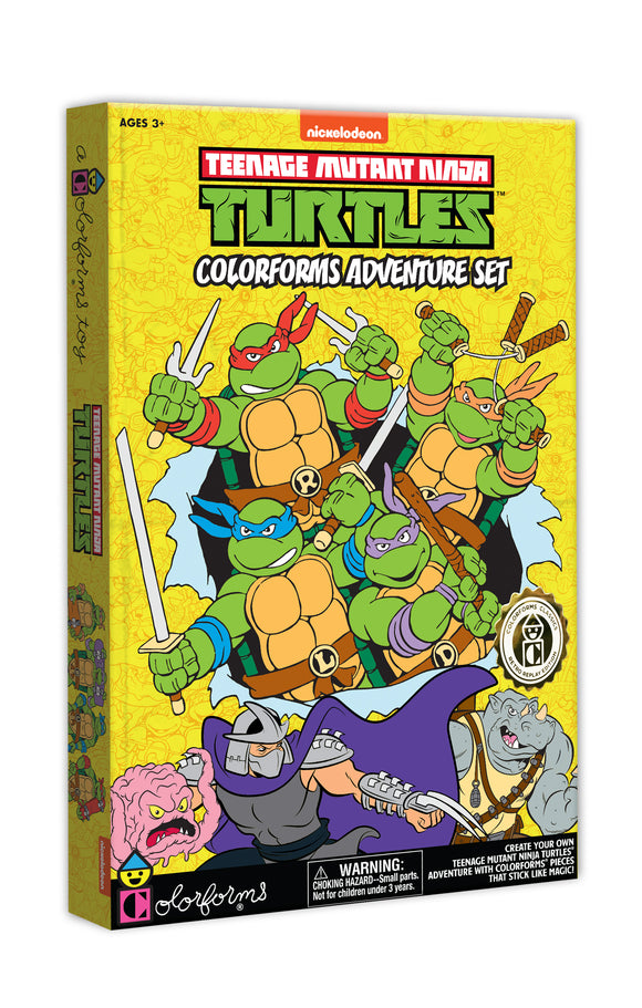 Teenage Mutant Ninja Turtles Retro Colorforms