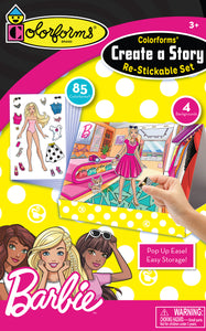 Colorforms® Create-A-Story Set: Barbie