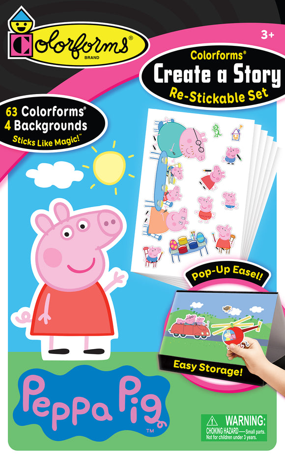 Colorforms® Create-A-Story Set: Peppa Pig