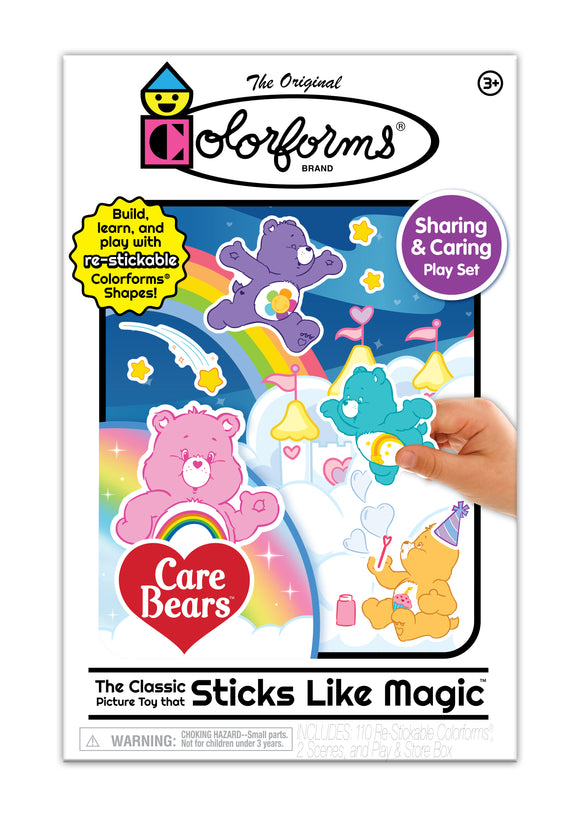 Colorforms® Playset – Care Bears