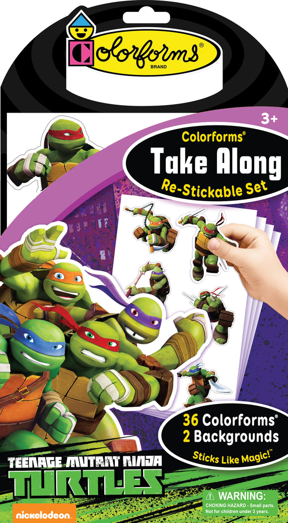 Colorforms® Take Along Set: Teenage Mutant Ninja Turtles
