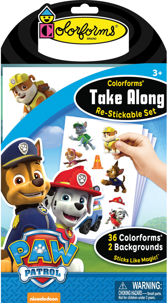 Colorforms® Take Along Set: Paw Patrol