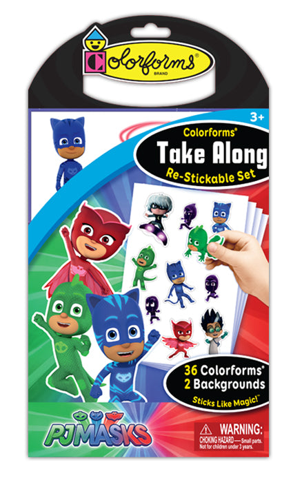 Colorforms® Take Along Set: PJ Masks