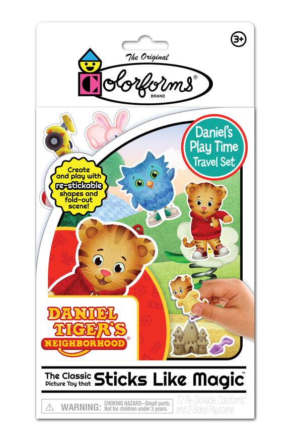 Colorforms Travel Play Set: Daniel Tiger's Neighborhood