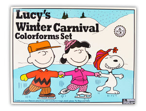 Colorforms® Lucy's Winter Carnival Retro Set