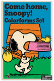 Colorforms® Come Home, Snoopy Retro Set