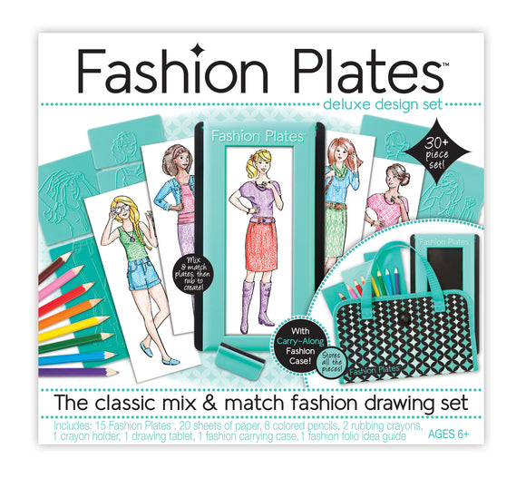Fashion Plates® Deluxe Design Set