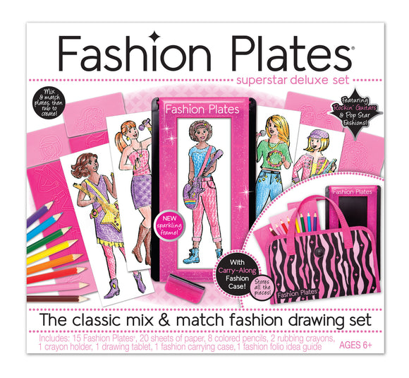 Fashion Plates® Superstar Deluxe Set