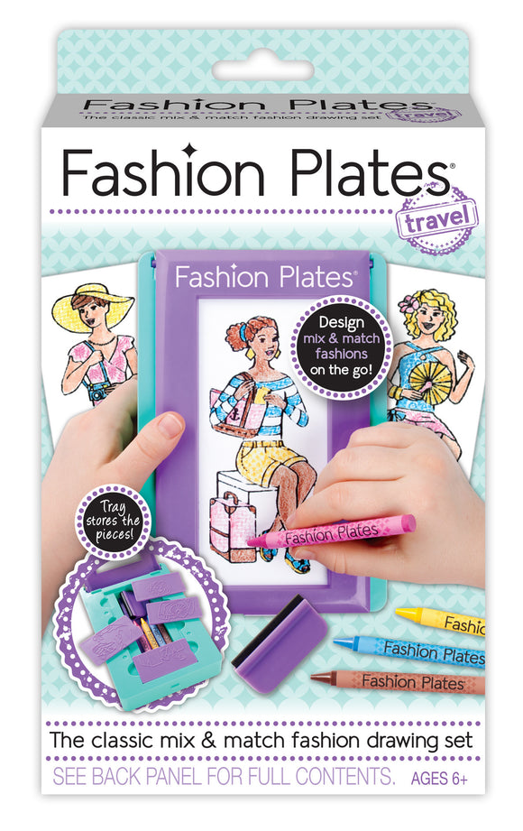 Fashion Plates® Travel Set