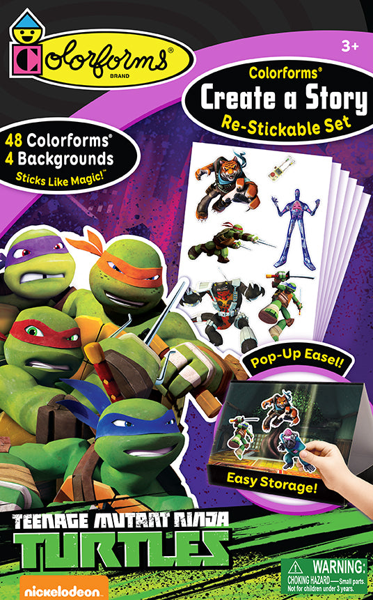 Colorforms® Create-A-Story Set: Teenage Mutant Ninja Turtles