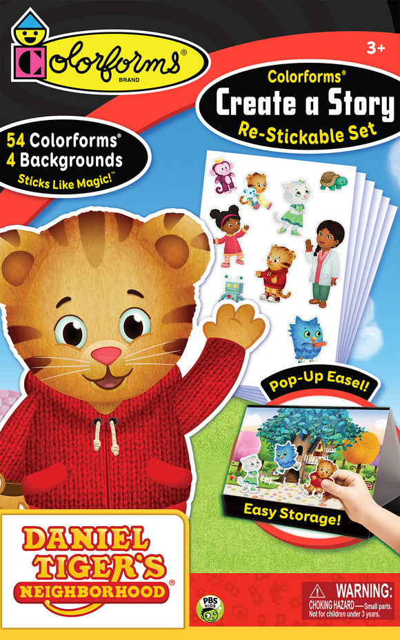 Colorforms® Create-A-Story Set: Daniel Tiger's Neighborhood