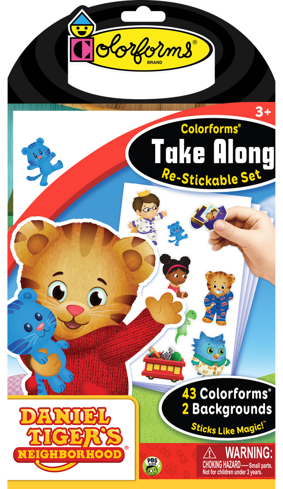 Colorforms® Take Along Set: Daniel Tiger's Neighborhood